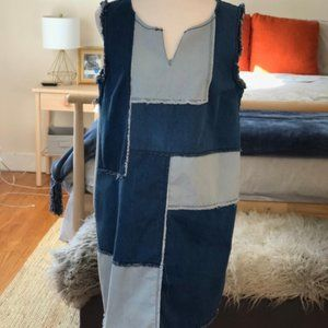 Nanette Lepore (Anthropology) Multi Denim Dress